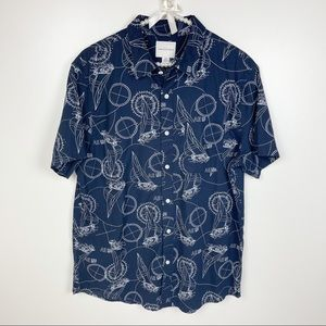 American Eagle Outfitter Sail Casual Button Shirt